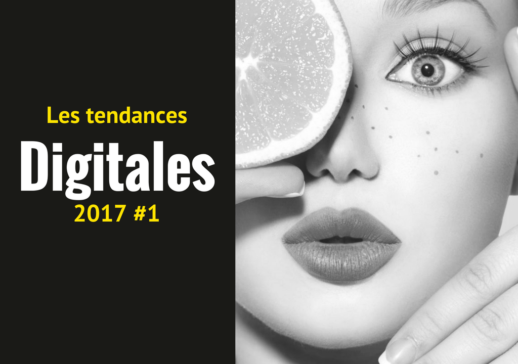 Les tendances digitales 2017 #1