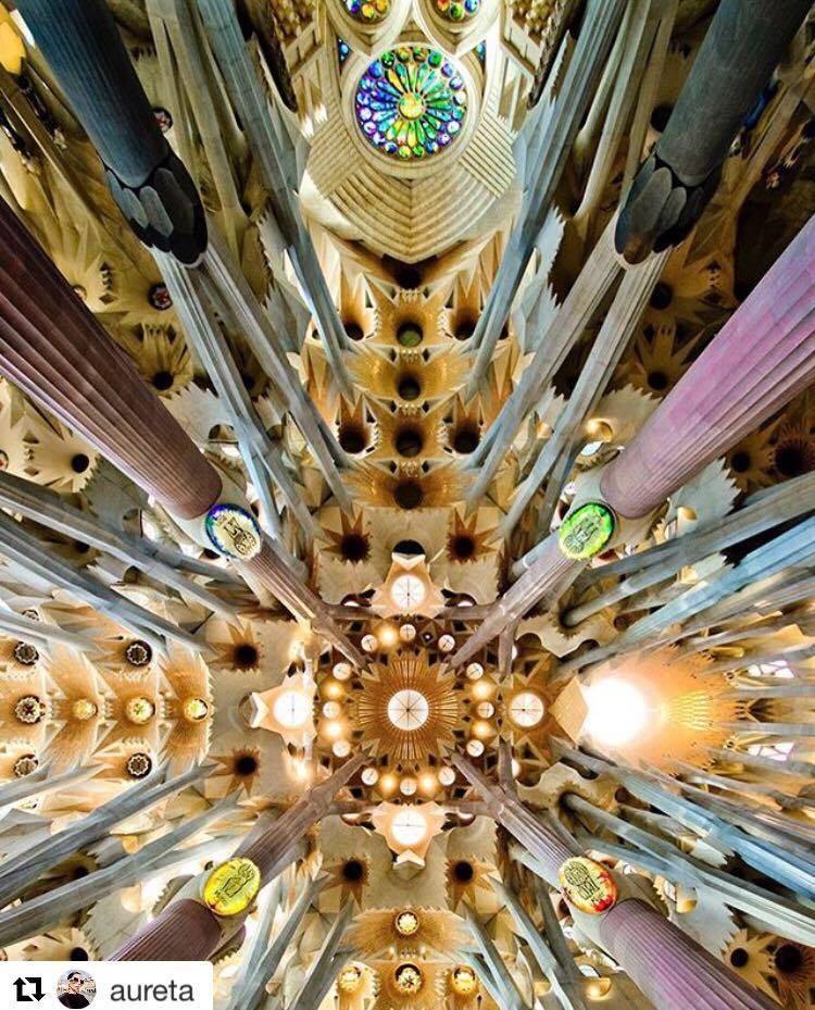 Sagrada Familia interieur