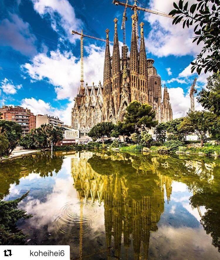 Sagrada Familia vue par un instagrameur connu
