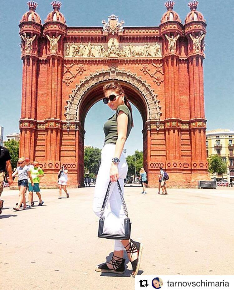 mannequin russe a barcelone