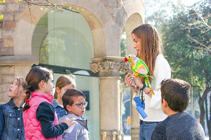 visite enfant barcelone