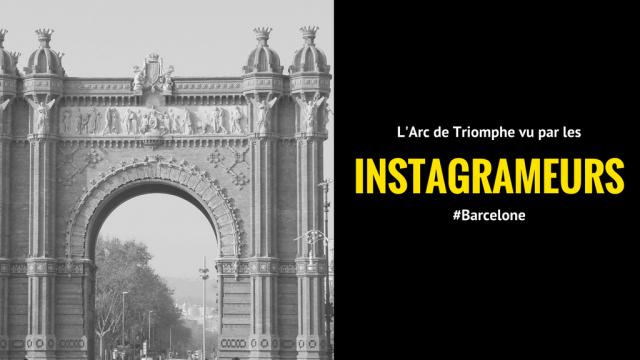 L'Arc de Triomphe de Barcelone vu par les instagrameurs