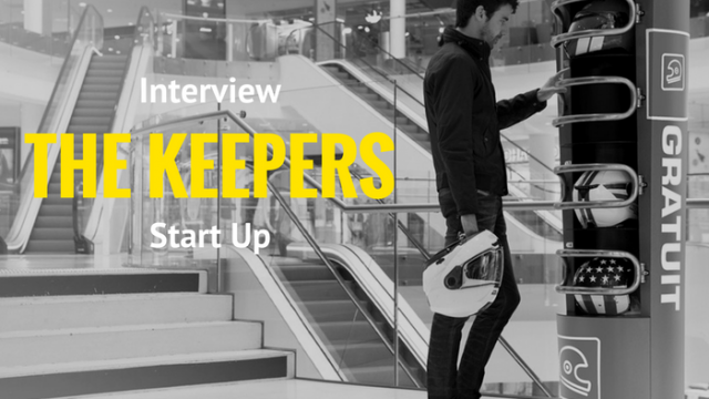 The Keepers, la Start-Up qui révolutionne les consignes en lieux publics !