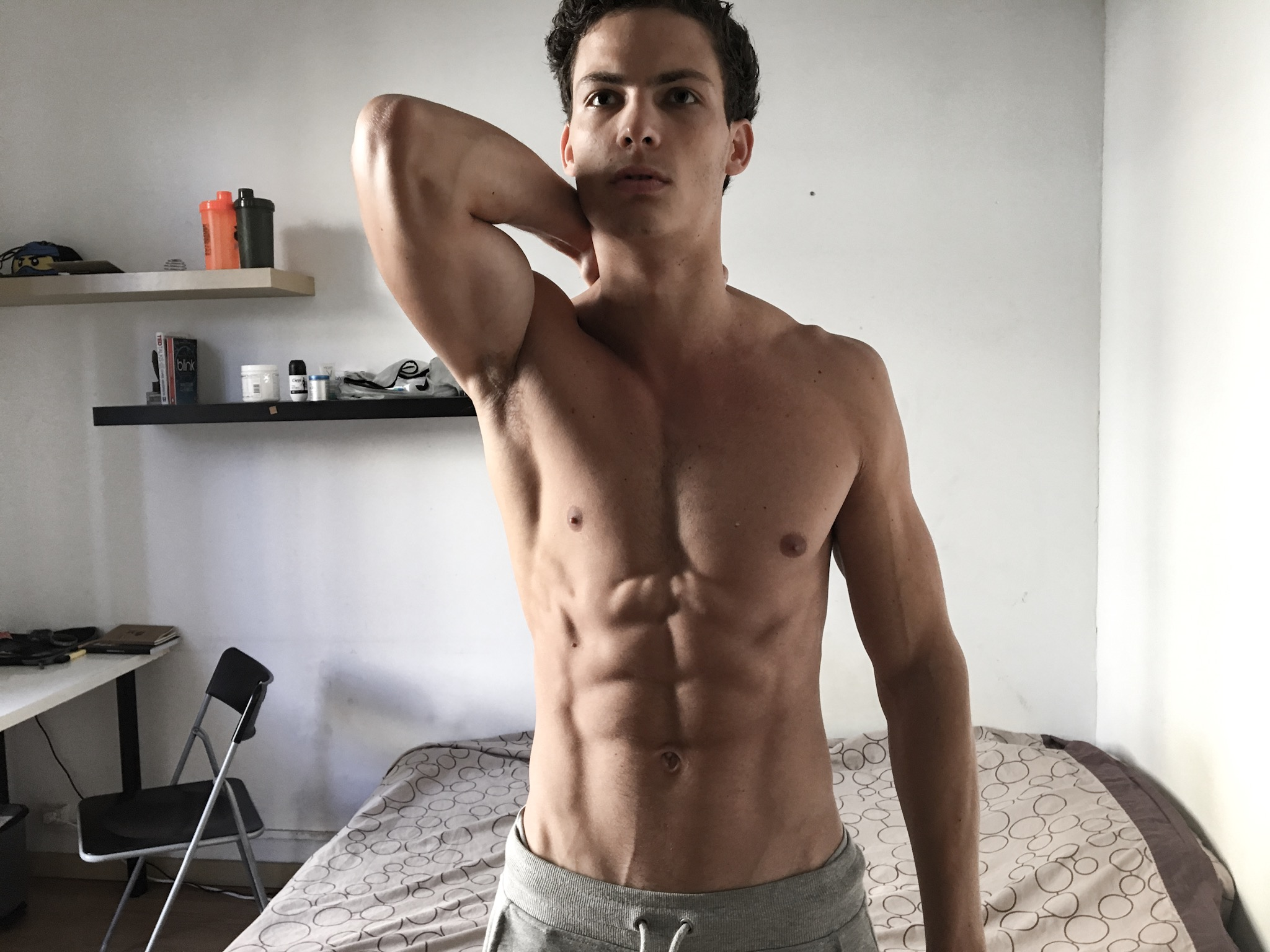 fitness model francais