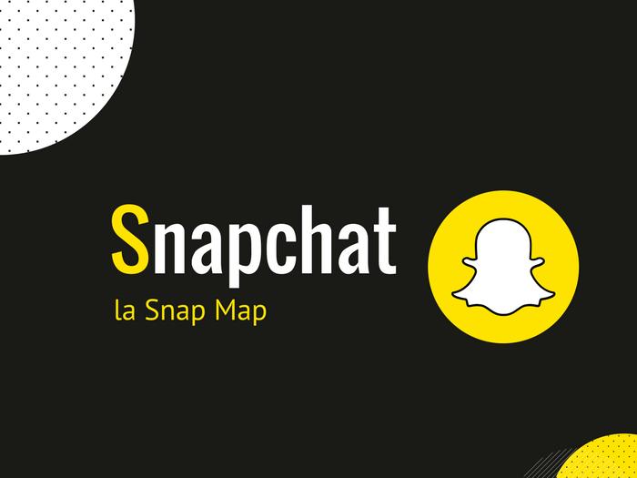 Snap Map : Nouvelle fonctionnalité Snapchat