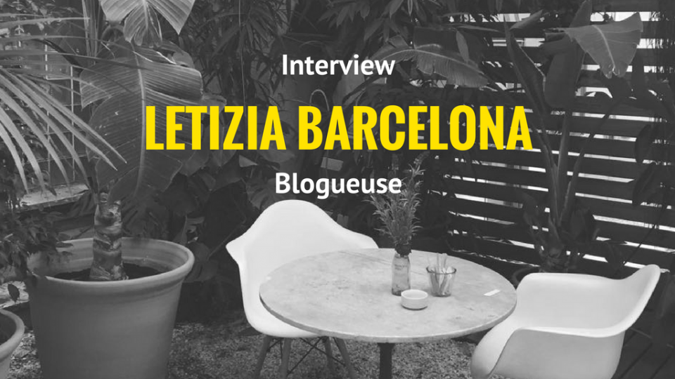 Blogueuse francaise a Barcelone