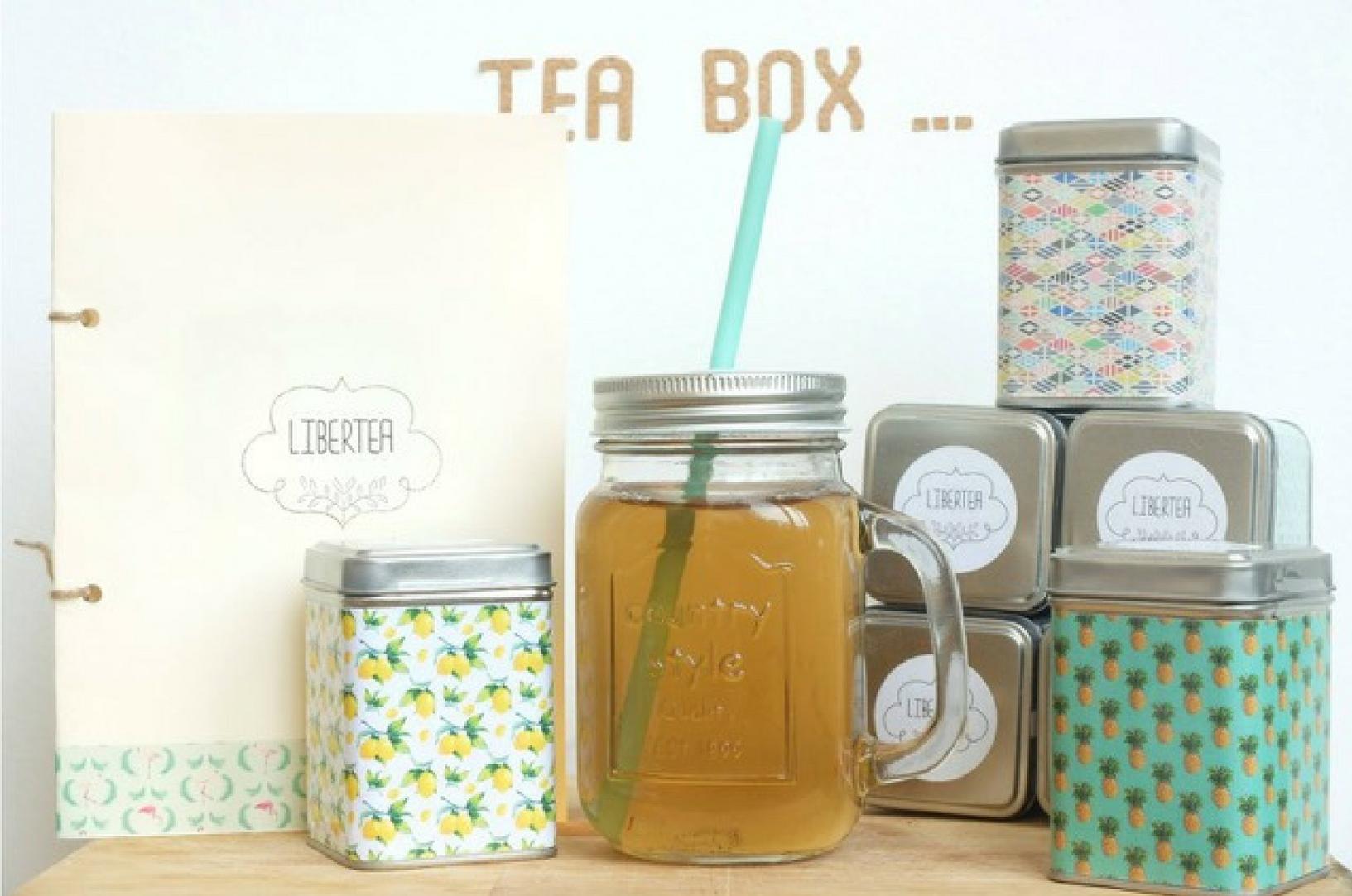 Tea box été