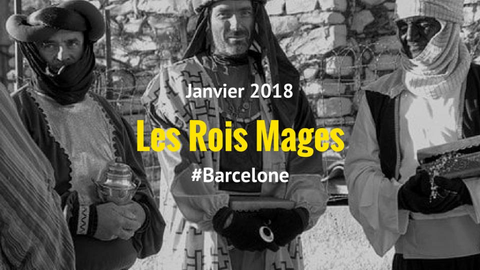 Celebration des rois mages a barcelone
