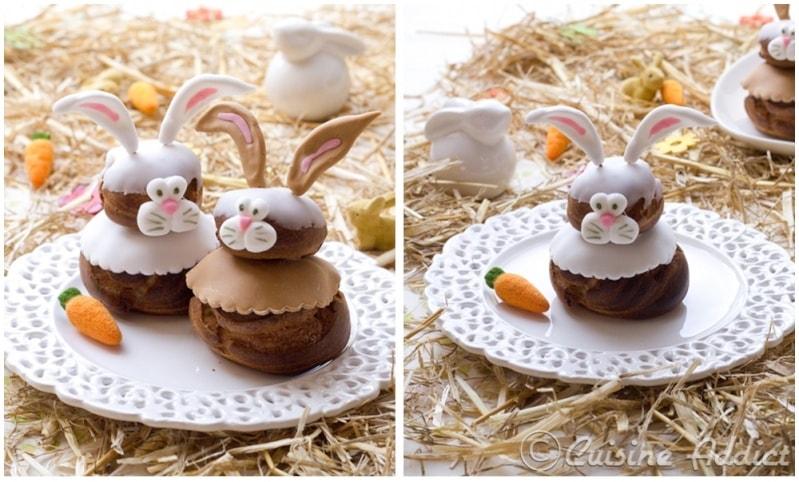 choux de paques lapin